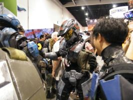 Halo cosplay DANCE by solo-knight6