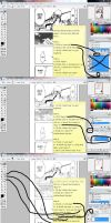 How to Color Manga Pages by nejean