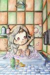 Baby Nova's Bath Time by Lisa-Art