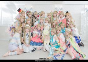LoveLive Kotori Only Cosplay 1 by eefai