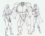 Most Muscles 001 by thomas1850