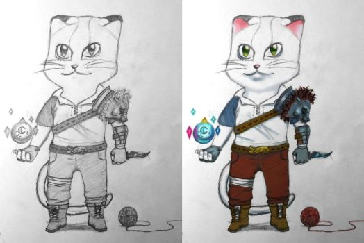 Adventure Cat by ArousingSoul