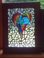 Rainbow Dash tile by rdtiles