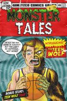 TEEN WOLF vintage comic v.2 by gimetzco