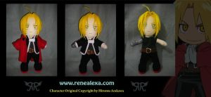 Edward Elric_Plushie by renealexa-plushie