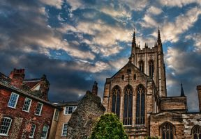 Bury St. Edmunds Cathedral PAN by Creative--Dragon