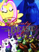 TMNT/MLP: Beauty and the Beast Cover by NinjaTurtleFangirl