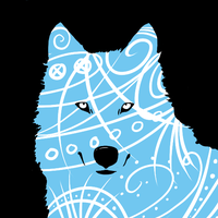 Blue Wolf by bloominglove
