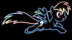 Rainbow Dash Wallpaper by ikillyou121