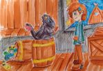 Eel in the Barrel by Magical-Awesome-Kid