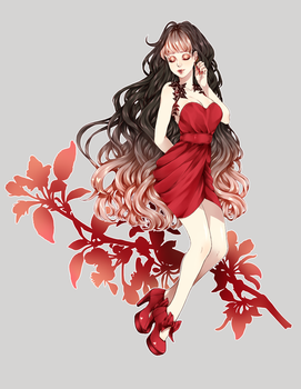 [OUaHS] Valentine's Date Dress by DeathatSunrise