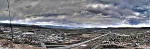 Castle Rock HDR Panoramic by Shotgunbobeh