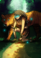 Queen of the Jungle by Gokinka