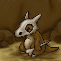 Oil Cubone by Kirimori