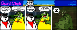 The Surf Club Comic 217 by BluebottleFlyer