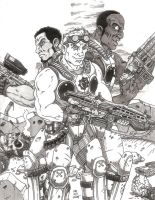 Gears of War gift by Crash2014