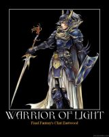 Warrior of Light Motivational by HC-IIIX