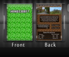Minecraft Box Art by discoveree