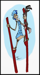 Luke on stilts by Slasher12