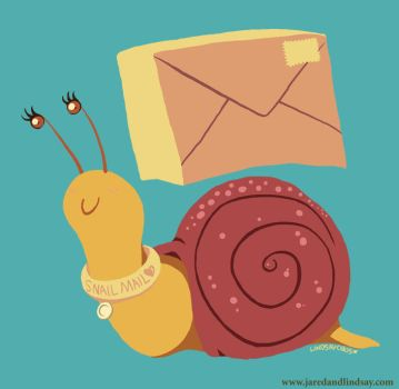 Snail Mail by peachfuzzmargins