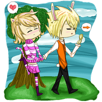 HS - Wonderland Roxy and Dirk by MintyChipLuv