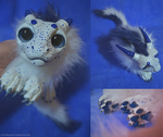 [SOLD] Azure Freckled Drake Doll by enigmaticworld