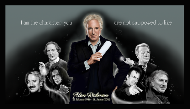 Alan Rickman - Always by RedPassion