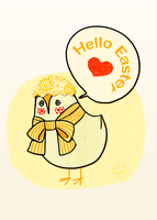 Hello Easter by Landale