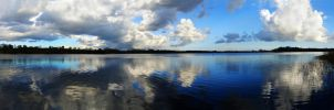 Clouds on Castle Loch by tartanink