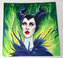 Maleficent by VictraART