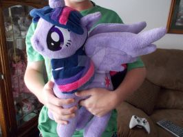 My Little Pony Princess Twilight Sparkle Huggable by CINNAMON-STITCH