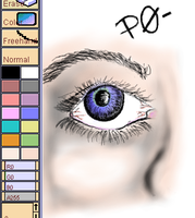 PaintChat Eye Coloured by eanbowman