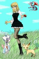 Me as a pokemon trainer by heyimdead