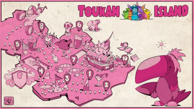 Tukanisland Card by stvolko