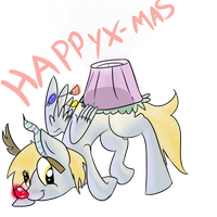 Derp x-mas by Spanish-Scoot