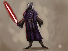 Sith Lord Concept by lukealagonda