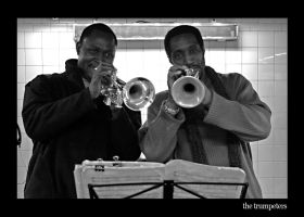 the trumpeters by toko