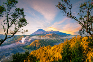 Pasuruan Mountains in Indonesia by eds-danny