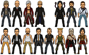 Game Characters by Melciah1791