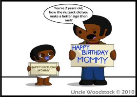 TXD: Mum's Birthday Card by UncleWoodstock