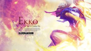 Ekko - League of Legends Wallpaper by xMarquinhos