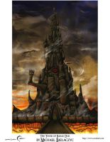 The Tower of Barad Dur by mbielaczyc