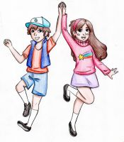 The Pine Twins by MahNati