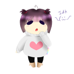 Heart Sweater Chib Colored! by Rainbrowz
