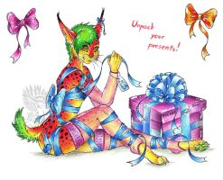 Unpack your present! c: by Drerika
