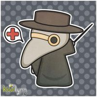 Plague Doctor by CrappyMornings