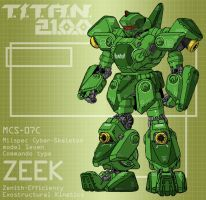 ZEEK commando type (for T.I.T.A.N. 2100) by Grebo-Guru