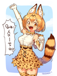 Serval chan by Nestkeeper