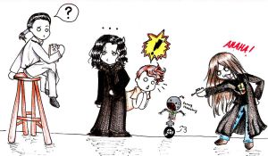 Brad Dourif Character Chibis by legend-of-lemon