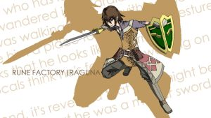 Rune Factory Wallpapers - Raguna by CLeRu087